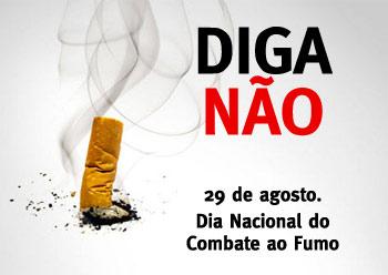 29 de agosto – Dia Nacional de Combate ao Fumo