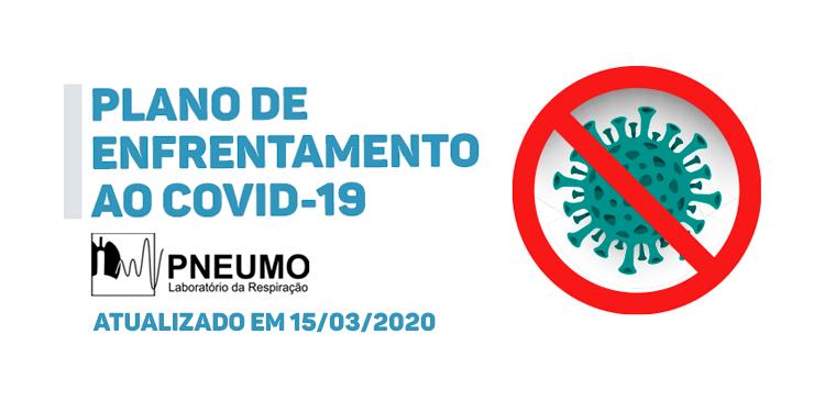 Comunicado importante: estratégia frente a pandemia do COVID-19